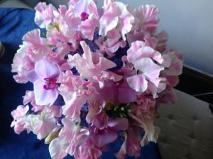 This week's wedding bouquet